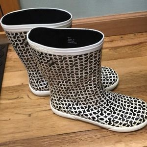 COACH Rain boots, size 7